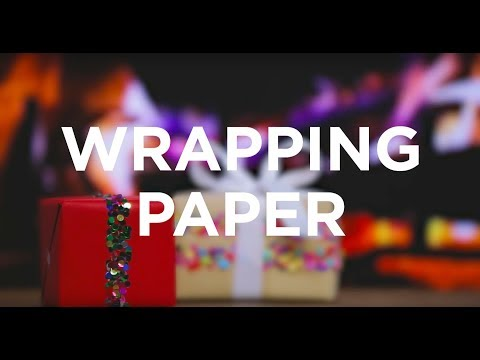 How to Make DIY Wrapping Paper with Robert Mahar