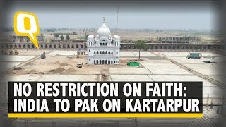 India Demands 5,000 Pilgrims be Allowed to Visit Kartarpur Per Day   The Quint