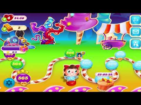 Candy Crush Soda Saga Level 566     No Boosters     1-Star ✫