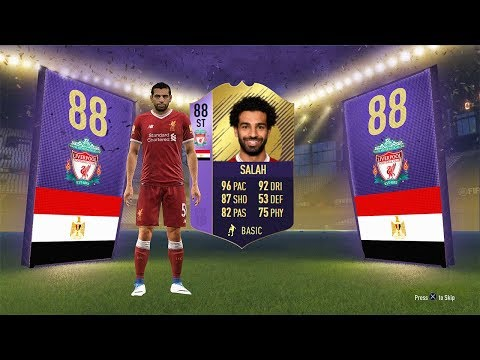 INSANE 88 ST POTM SALAH CARD! (CHEAP / COMPLETE) - FIFA 18 Ultimate Team