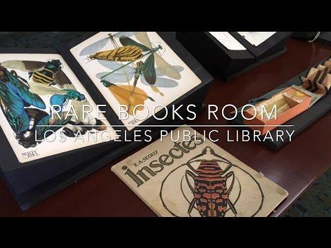 Rare Books Room - Los Angeles Public Library