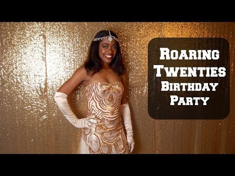 Roaring Twenties Birthday Party