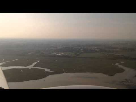 Venice, Italy - Landing at Venice Marco Polo Airport HD (2015)