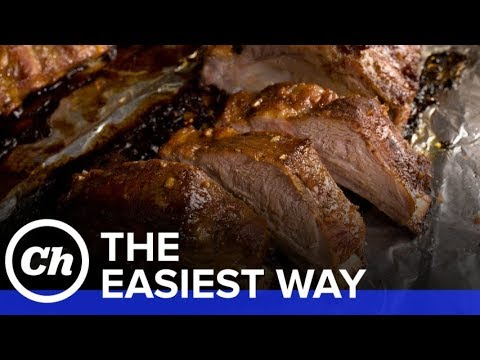 How to Make Easy Oven-Baked Ribs - The Easiest Way