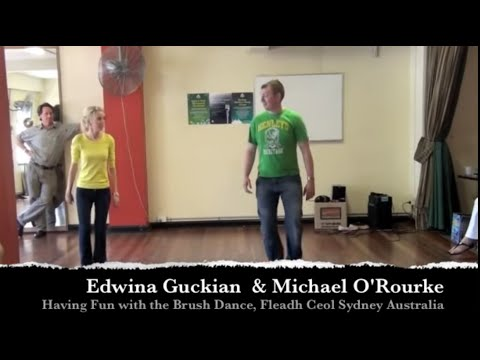 Irish sean-nós brush dance-Edwina and Michael