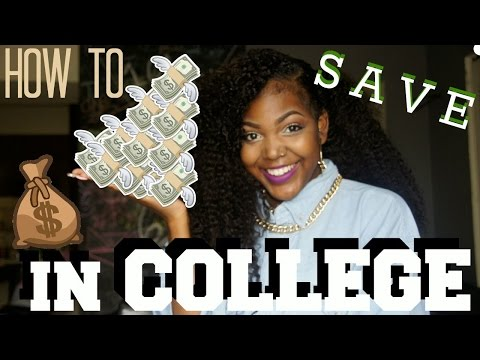 How to Save/ Budget Your Money in College!
