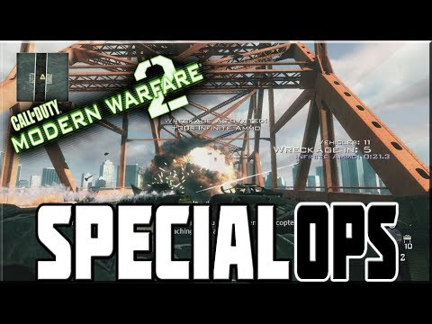 MODERN WARFARE 2 SPECIAL OPS MISSIONS ON VETERAN!