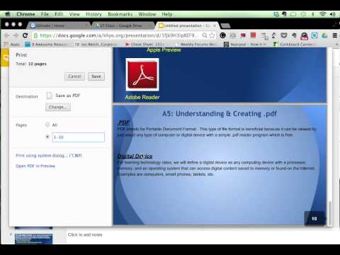 Creating PDF files from Google Apps