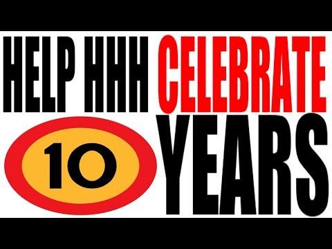 Celebrating TEN Years on YouTube!!!!