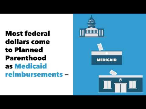 Myth #4: Planned Parenthood has its own line item in the federal budget