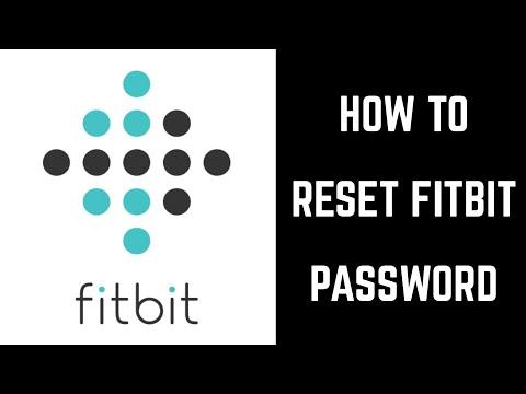 How to Reset Fitbit Password