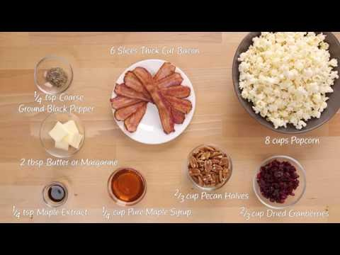 How to Make: Maple Bacon Popcorn Mix