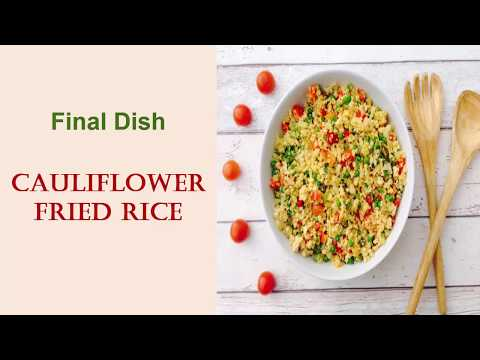 Fried Cauliflower Rice | Quick food for dinner | Rice Lover