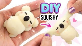 Download DIY SQUISHY KOALA!! Make VIRAL Silicone Squishies from Scratch! Hitohada Gel Tutorial Video