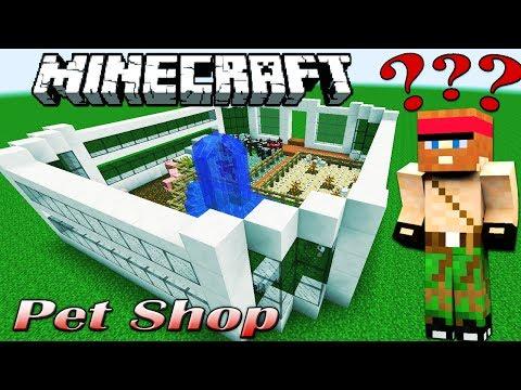 Minecraft: PET SHOP [Interactive Building #04]