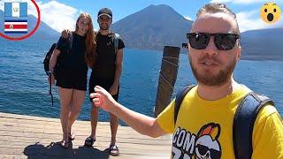 Ticos en el lago más bello del mundo