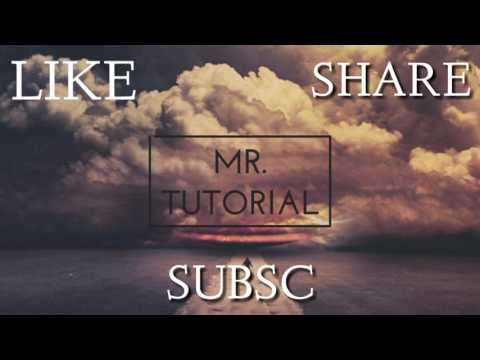 Ending MR. Tutorial | for youtube