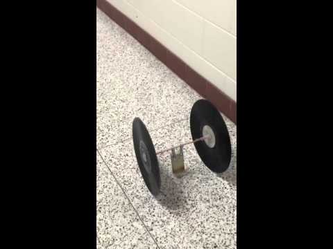 Mousetrap Car Trial (An Amazing Distance)