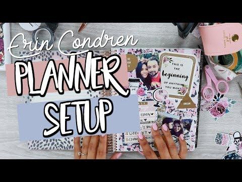 ERIN CONDREN 2018 Planner Setup | Belinda Selene