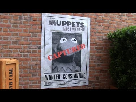 Muppets Most Wanted scavenger hunt around World Showcase at Epcot