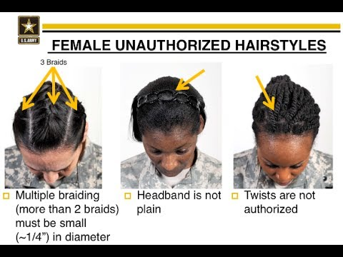 Black Female Lawmakers Object To Army's 'Discriminatory' Ban On Certain Hairstyles
