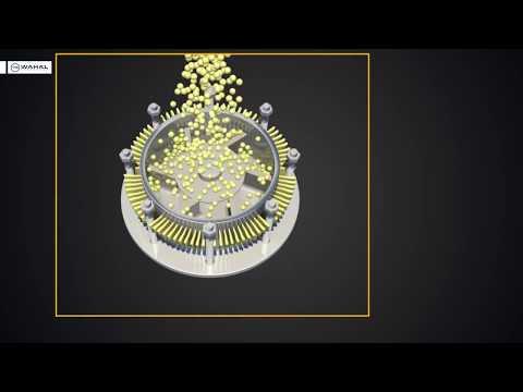 Peanut butter grinder emulsifier 3D animation