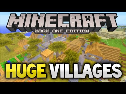 Minecraft Xbox 360 & PS3: TU42 3 HUGE Villages and 2 Witch Huts