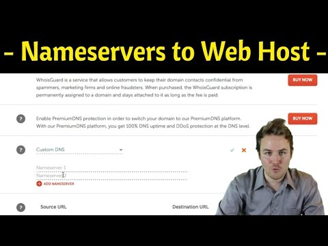 How To Point Your DNS Nameservers To Your Website Host Step by Step