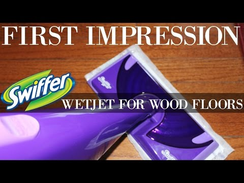HOW TO CLEAN WOOD FLOORS | SWIFFER WETJET
