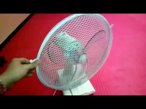Fan blades don't spin, no movement - Desk fan repair complete guide
