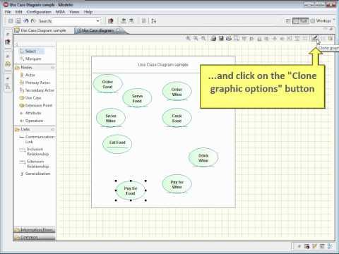 [Modelio] Create a UML use case diagram