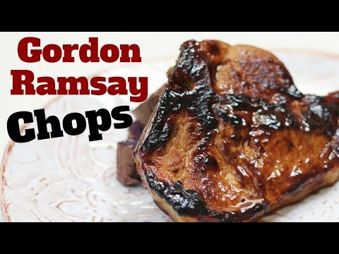 Easy Honey Mustard Pork Chops, Gordon Ramsay recipe