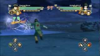 NARUTO STORM 3: Fastest Ring Out Ever