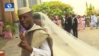 VP Osinbajo Gives Damilola To Oluseun Bakare In Marriage |Metrofile|