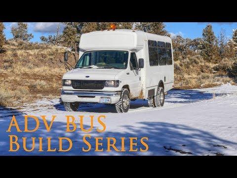 Adventure Bus Build - Part 1 Tear down