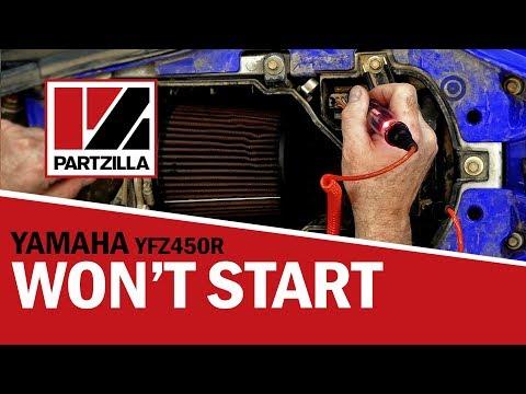ATV Won't Start   YZF450R Yamaha ATV Not Starting   Partzilla.com