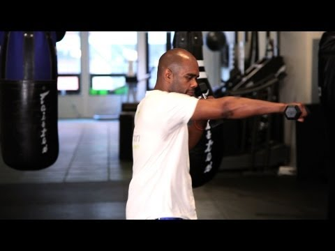 Shoulder Strength Endurance Exercise   Muay Thai
