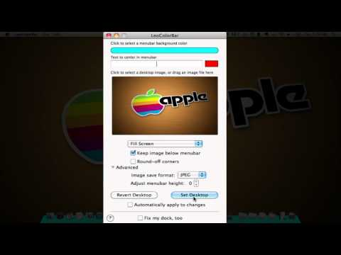 Mac Customization: How to Color the Menu Bar