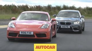 Porsche 718 Cayman S vs BMW M2 | Track Shootout  | Autocar