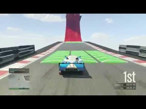 GTA 5 CUSTOM RACE 66!!! LIVE COMMENTARY!!!