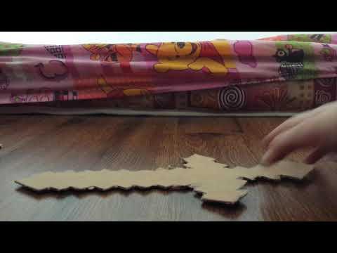 Homemade minecraft sword (cardboard only)