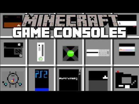 Minecraft GAME CONSOLES MOD / HELP THE VILLAGERS FIND THEIR XBOX!! Minecraft