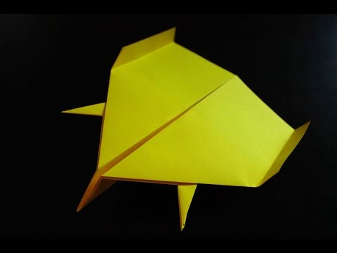 How to make a cool paper plane origami: instruction| Glider