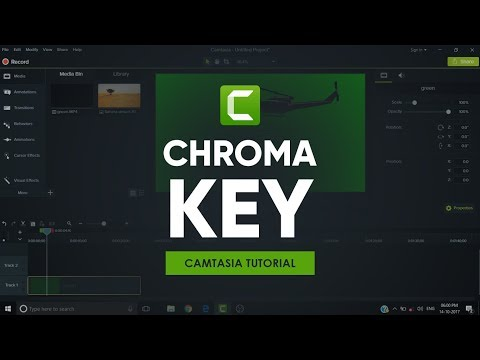 Chroma Key in Camtasia 9 | Tutorial