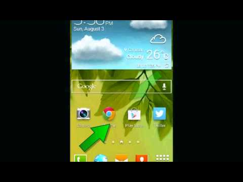 Samsung Galaxy s4 : How to change home screen (Android Kitkat)