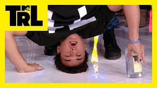 The Dolan Twins Kiss a Fan & Do a Handstand for