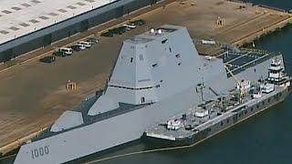 On board the USS Zumwalt, the Navy