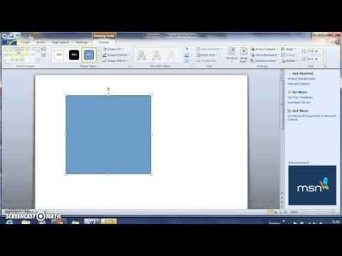 How to Insert Shapes into Word Document