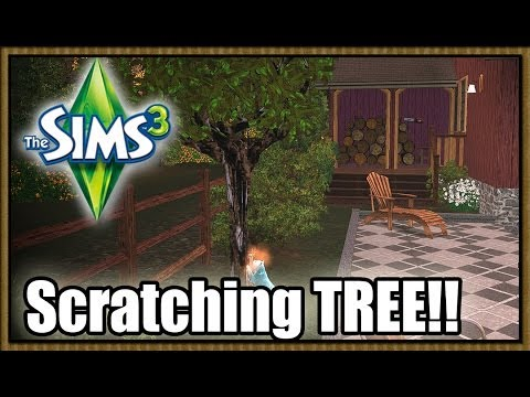 The Sims 3 CC - Cat Scratching TREE! by Zedrael