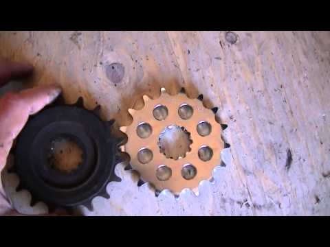 How to replace a front Sprocket